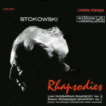 Stokowski Rhapsodies  Franz Liszt: Hungarian Rhapsody No. 2 in C-Sharp Minor  George Enescu: Roumanian Rhapsody No. 1 in A, Op. 11  Bedrich Smetana: The Moldau & The Bartered Bride: Overture  Leopold Stokowski ANALOGUE PRODUCTIONS 200 gr