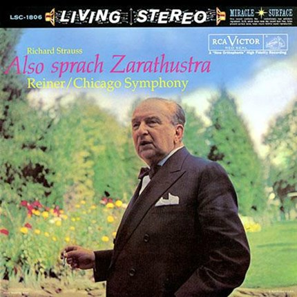 Richard Strauss (1864-1949)  Also Sprach Zarathustra, Op. 30 Chicago Symphony Orchestra Fritz Reiner RCA LIVING STEREO ANALOGUE PRODUCTIONS