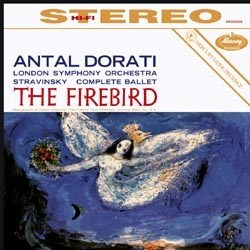 "Igor Stravinsky: ""L'Oiseau de feu (The Firebird)"" - The London Symphony Orchestra conducted by Antal Dorati MERCURY"