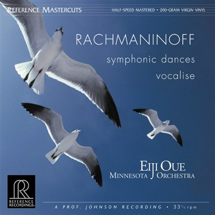 Rachmaninoff  Symphonic Dances & Vocalise Minnesota Orchestra Eiji Oue REFERENCE RECORDINGS