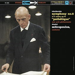 TCHAIKOVSKY SYMPHONY No. 6New York Philharmonic Orchestra Dimitri Mitropoulos COLUMBIA SPEAKERS CORNER