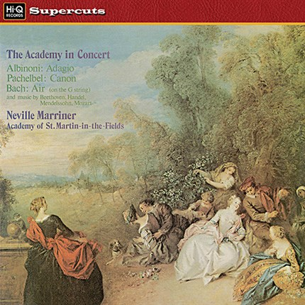The Academy in concert  Sir Neville Marriner Academy St. martin-in-the-Fields EMI