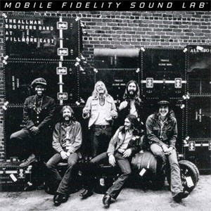 The Allman Brothers Band  At Fillmore East  Numbered Limited Edition  MOBLILE FIDELITY 180g 2LP