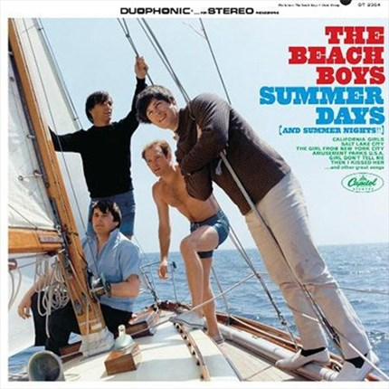 The Beach Boys Summer Days  (And Summer Nights!!)  ANALOGUE PRODUCTIONS  200g LP (Mono)