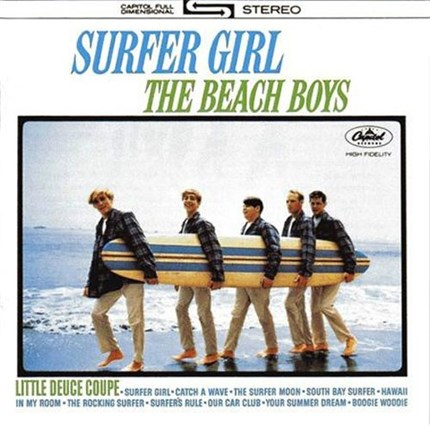 The Beach Boys Surfer Girl ANALOGUE PRODUCTIONS  200g LP