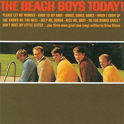 The Beach Boys The Beach Boys Today!  ANALOGUE PRODUCTIONS  200g LP (Mono)
