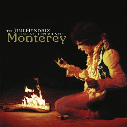 The Jimi Hendrix Experience Live At Monterey Numbered Limited Edition SONY LEGACY 200g LP