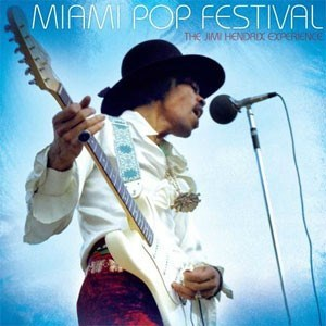 The Jimi Hendrix Experience Miami Pop Festival SONY LEGACY 200g 2LP
