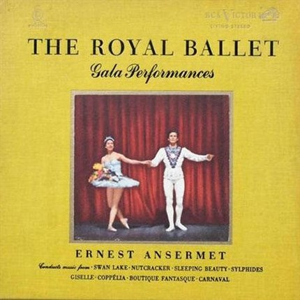 Ernest Ansermet The Royal Ballet Gala Performances 200g 2LP & Book Box Set ANALOGUE PRODUCTIONS