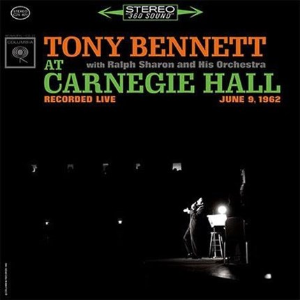 Tony Bennett Tony Bennett at Carnegie Hall Hybrid Multi-Channel & Stereo SACD ANALOGUE PRODUCTIONS