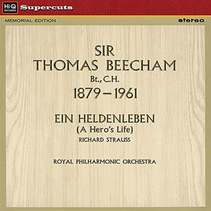 Richard Strauss: Ein Heldenleben Royal Philharmonic Orchestra Sir Thomas Beecham EMI