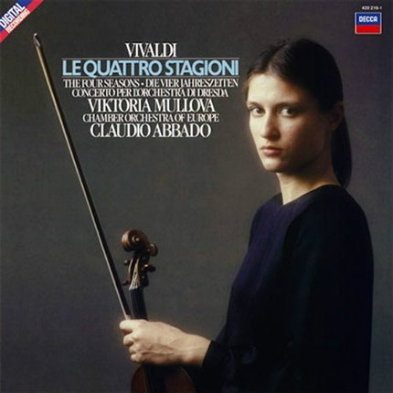 VIKTORIA MULLOVA VIVALDI THE FOUR SEASONS DECCA ANALOGPHONIC