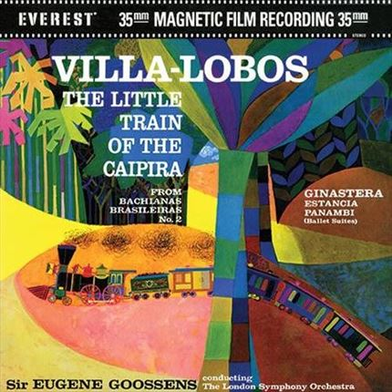 Villa-Lobos The Little Train of The Caipira EVEREST Analogue Productions 200g 45rpm 2LP