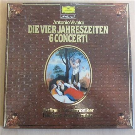 Vivaldi The Four Seasons Herbert von Karajan Berlin Philharmonic Orchestra DGG