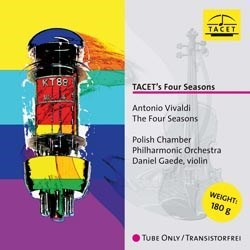 "Antonio Vivaldi: ""The Four Seasons"" - Daniel Gaede (v) and The Polish Chamber Philharmonic Orchestra TACET"