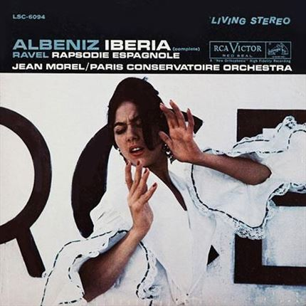 Albeniz & Ravel Iberia (Complete) & Rhapsodie Espagnole Jean Morel Analogue Productions 200g 2LP