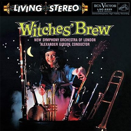 "Alexander Gibson Witches' Brew    Ballet Music From ""Faust"" Alexander Gibson RCA Living Stereo ANALOGUE PRODUCTIONS"