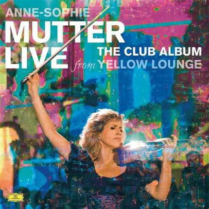Anne-Sophie Mutter Live From The Yellow Lounge The Club Album 180g 2LP DGG