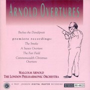 Arnold Overtures London Philharmonic, Malcolm Arnold REFERENCE RECORDINGS