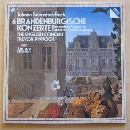 Bach 6 Brandenburg Concerots The English Concert Trevor Pinnock ARCHIV