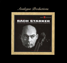 Janos Starker Bach Suites For Unaccompanied Cello Complete Analogue Productions 200g 45rpm 6LP