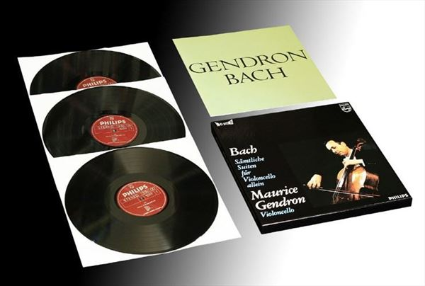 BACH Complete Cello Suites GENDRON (1)