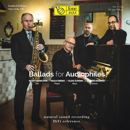 BALLADS FOR AUDIOPHILES  SCOTT HAMILTON FONE RECORDS