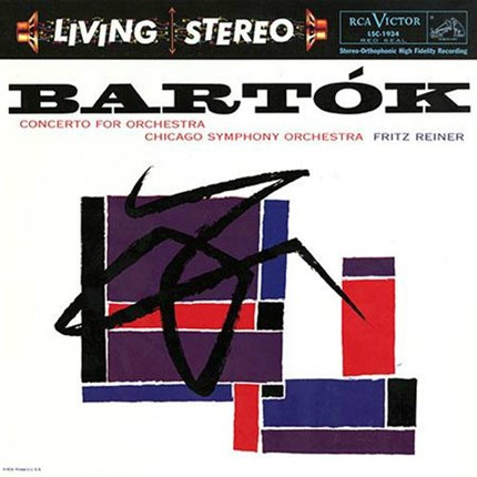 Bartok Concerto for Orchestra Fritz Reiner Chicago Shymphony Orchestra RCA LIVING STEREO ANALOGUE PRODUCTIONS