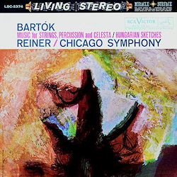 Bartok Music For Strings, Percussion & Celesta/Hungarian Sketches FRITZ REINER RCA Living Stereo  ANALOGUE PRODUCTIONS 200g LP