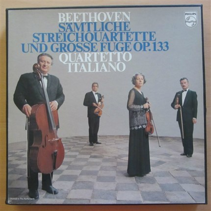 Beethoven Complete String Quartets Quartetto Italiano PHILIPS