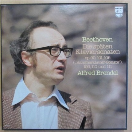 Beethoven Six last piano sonatas Alfred Brendel PHILIPS