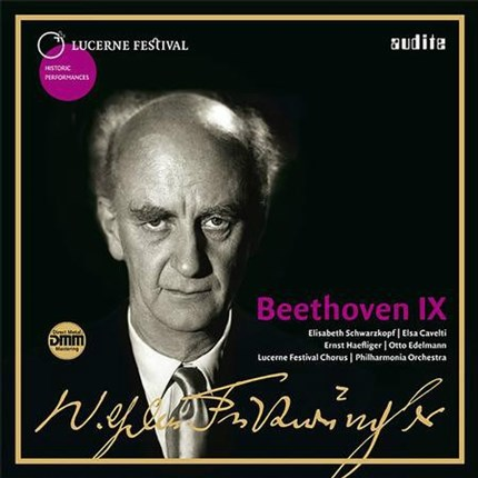 Wilhelm Furtwängler 1954 conducts Beethoven's Symphony No. 9 on LP AUDITE