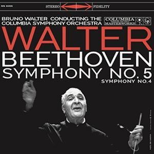 Ludwig van Beethoven  Symphony No. 4 in B-flat Major, Op. 60 Symphony No. 5 in C minor, Op. 67  Columbia Symphony Orchestra Bruno Walter COLUMBIA SPEAKERS CORNER
