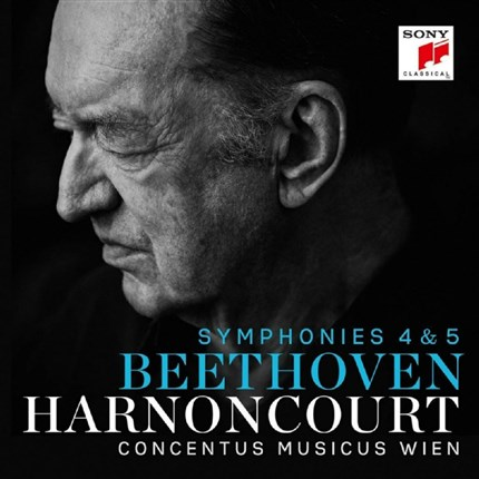 Beethoven Symphonies 4 & 5 Concentus Musicus Wien Nikolaus Harnoncourt SONY