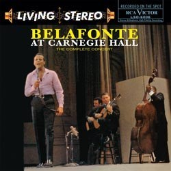 Harry Belafonte: Belafonte At Carnegie Hall RCA LSO-6006
