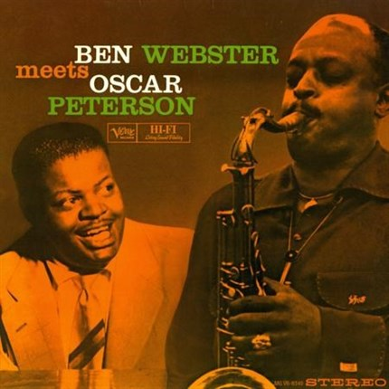 Ben Webster & Oscar Peterson Ben Webster Meets Oscar Peterson ANALOGUE PRODUCTIONS Numbered Limited Edition 200g 45rpm 2LP