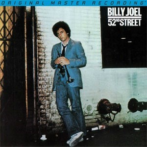 Billy Joel 52nd Street Numbered Limited Edition 45rpm 180g 2LP MOBILE FIDELITY