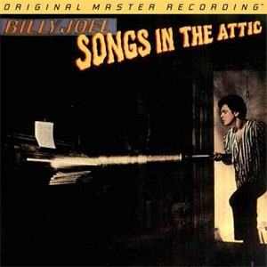 Billy Joel Songs In The Attic  Numbered Limited Edition  MOBLILE FIDELITY 180g 45rpm 2LP