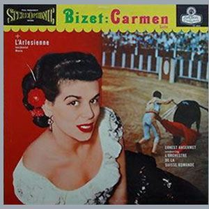 Bizet Carmen & L'Arlisienne Suite Original Recordings Group Numbered Limited Edition 180g 45rpm 2LP