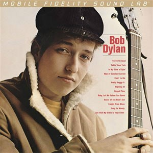 Bob Dylan Bob Dylan Numbered Limited Edition 180g 45rpm 2LP MOBILE FIDELITY