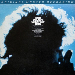 Bob Dylan Bob Dylan's Greatest Hits Numbered Limited Edition 45rpm 180g 2LP MOBILE FIDELITY