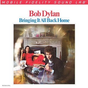 Bob Dylan Bringing It All Back Home MOBILE FIDELITY Numbered Limited Edition 45rpm 180g Mono 2LP
