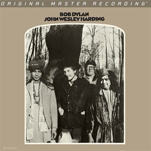 Bob Dylan John Wesley Harding MOBILE FIDELITY Numbered Limited Edition 45rpm 180g Mono 2LP