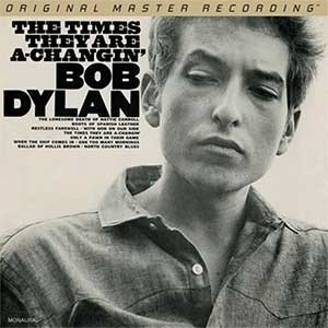 Bob Dylan The Times They Are A-Changin' MOBILE FIDELITY Numbered Limited Edition 45rpm 180g Mono 2LP