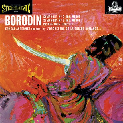 Borodin Symphonies Nos. 2 & 3 Numbered Limited Edition 180g 45rpm 2LP ORG