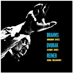 Brahms: Hungarian Dances   Dvorák: Slavonic Dances  Vienna Philharmonic Orchestra conducted by Fritz Reiner DECCA SPEAKERS CORNER