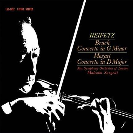 Bruch & Mozart Concerto in G minor  Concerto inD Major Analogue Productions 200g LP