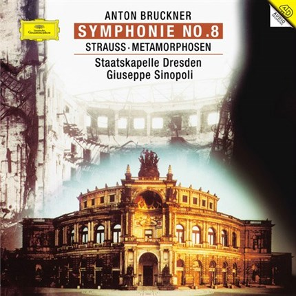 Anton Bruckner Symphony No. 8 ANALOGPHONIC 2LP Box Set 180 gr