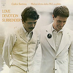 C. Santana & J. McLaughlin: Love Devotion Surrender COLUMBIA Speakers Corner