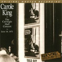Carole King The Carnegie Hall Concert June 18, 1971  Numbered Limited Edition  MOBILE FIDELITY 180g 2LP